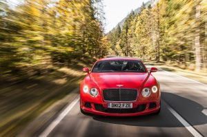 They don't call it 'Speed' for nothing: Bentley Continental GT one of the quickest luxury cars on the market
