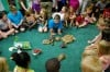 Amphibian fun at the Crete library