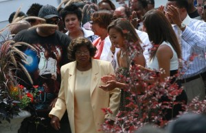 Katherine Jackson and Michael's children to come 'back to Indiana'