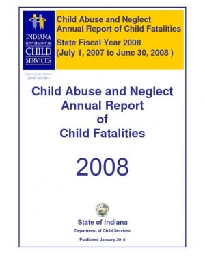 Read Indiana Department of Child Services child fatalties reports