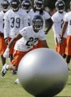 Kyle Fuller working out