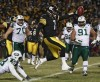 AFC Championship: Steelers withstand Jets' rally to earn matchup with Packers