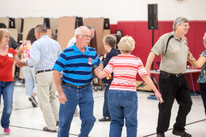 Hip to be square dancing: Hebron Middle School hosts hoedown