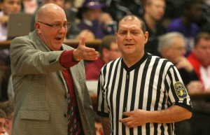 IHSAA, officials work hard to clean up the basketball floor
