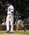 Helton homers twice, Rockies beat Cubs