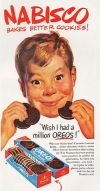 Vintage Nabisco Oreo Cookie Advertisement