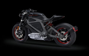 Harley Davidson unveils electric motorcycle