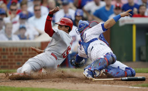 Adams, Pierzynski lead Cards past Cubs