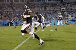 Bears defense shines in loss to Panthers