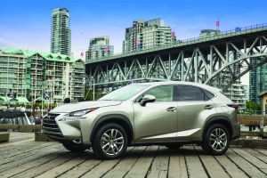 2015 Lexus NX brings dramatic design