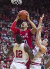 MEN'S BASKETBALL ROUNDUP: Nebraska holds off Indiana's charge