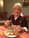 Mary Beth Schultz and her Savory Chicken Liver Pâté