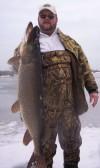 Mother Nature has ice region fishermen stepping lightly