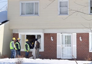 Gas leak in vacant house causes scare