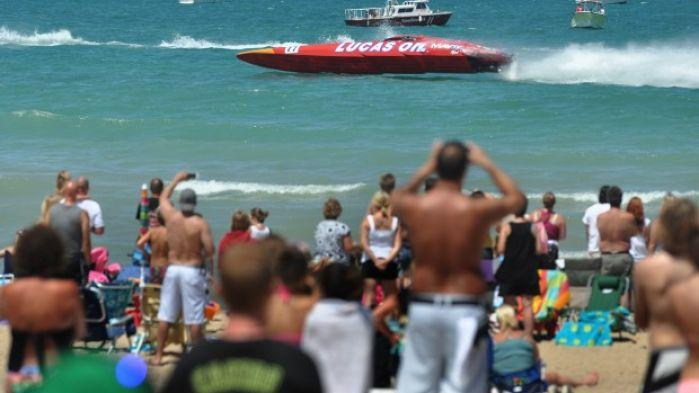 Grand prix boat races highlight michigan city weekend for Laporte county news