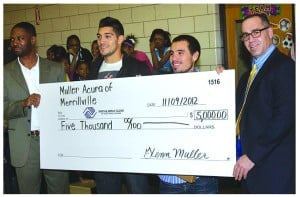 Muller Acura of Merrillville Donates to the Boys & Girls Clubs of Northwest Indiana