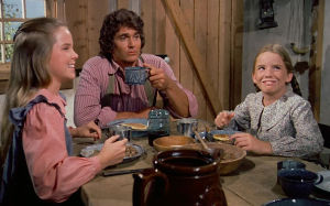 """Little House on the Prairie"" Starring Melissa Sue Anderson, Michael Landon and Melissa Gilbert"