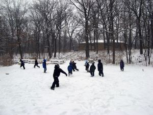 Irons Oaks offers winter fun