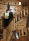 Home rustic home: Log homes promote serenity, back to nature, and green practices