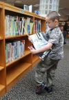Reading is fun at the Hess Elementary school library