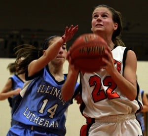 Beecher overwhelms youthful Lutheran in girls hoops
