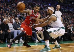 PRO BASKETBALL: Augustin scores career high as Bulls topple Celtics