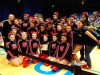 T.F. South cheerleaders 12th at state event