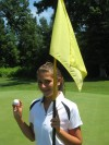Alicia Wood, golfer