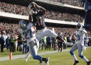 Bears let opportunities slip away in loss to Lions