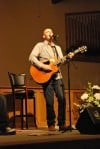 Phil Stacey performs at Bethal Christian Reformed Church