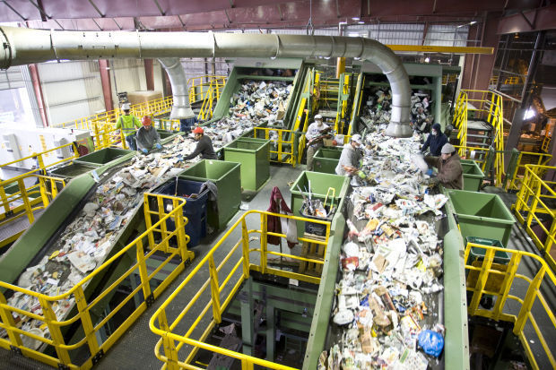 recycling centers close temporarily to probe dumping lake county