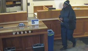 Police search for Merrillville bank robbery suspect