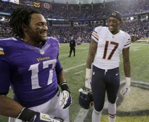 Gallery: Vikings defeat Bears in OT