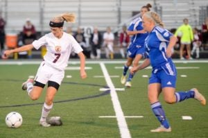 Chesterton's Brendza relentless in pursuit of goals
