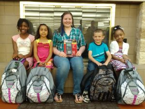 Crete library awards prizes to raffle winners in Summer Reading program