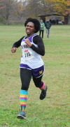 T.F. North's Charlene Horton placed 17th