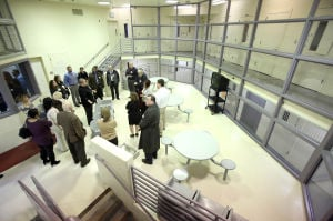 Judges throw doors open to renovated Juvenile Justice Center
