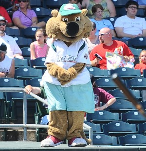 RailCats mascots use creativity to be clothes horses
