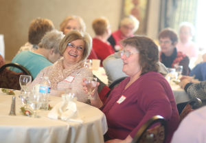 Surviving spouses enjoy Valentine's Day Bingo Brunch