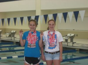 Ellen Forjan wins two golds at Indiana Age-Group State Swimming Championships