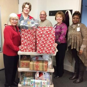 Holiday generosity runs through hospital into community
