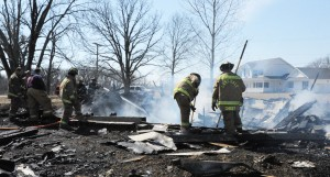 Fires destroy Lake Dale home, damage S'ville residence