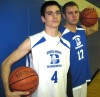 Dean Hill, Jake Clapp, Boone Grove basketball