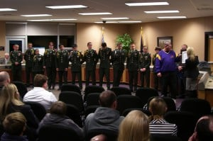 Hobart JROTC recognized by U.S. Secretary of Defense
