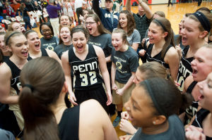 Penn beats Logansport in girls basketball semistate nail-biter