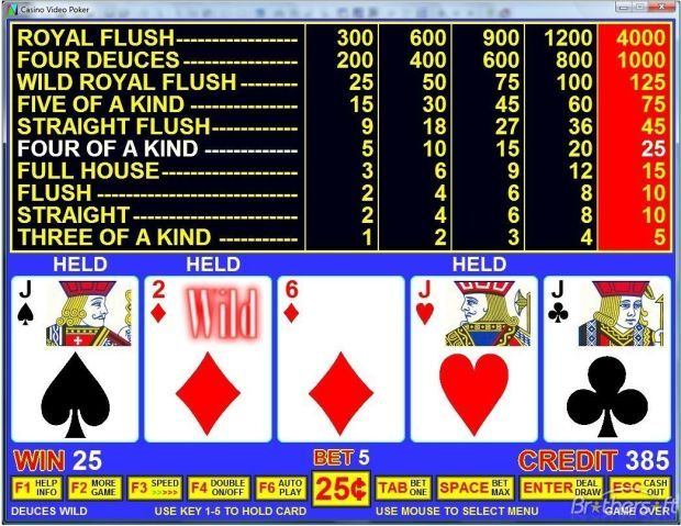Casino Scene: Random thoughts about video poker