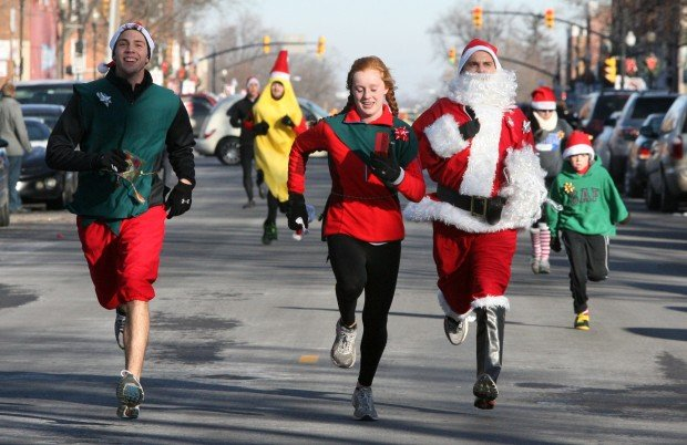 Friends' Christmas Eve jog evolved into charity event