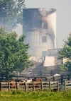 All 40 horses spared in Schererville barn fire