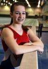 Boone Grove gymnast Valerie Strickland