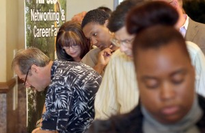Job seekers flock to Times job fair